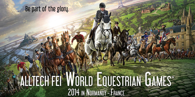 Wereldruiterspelen 2014 Normandie