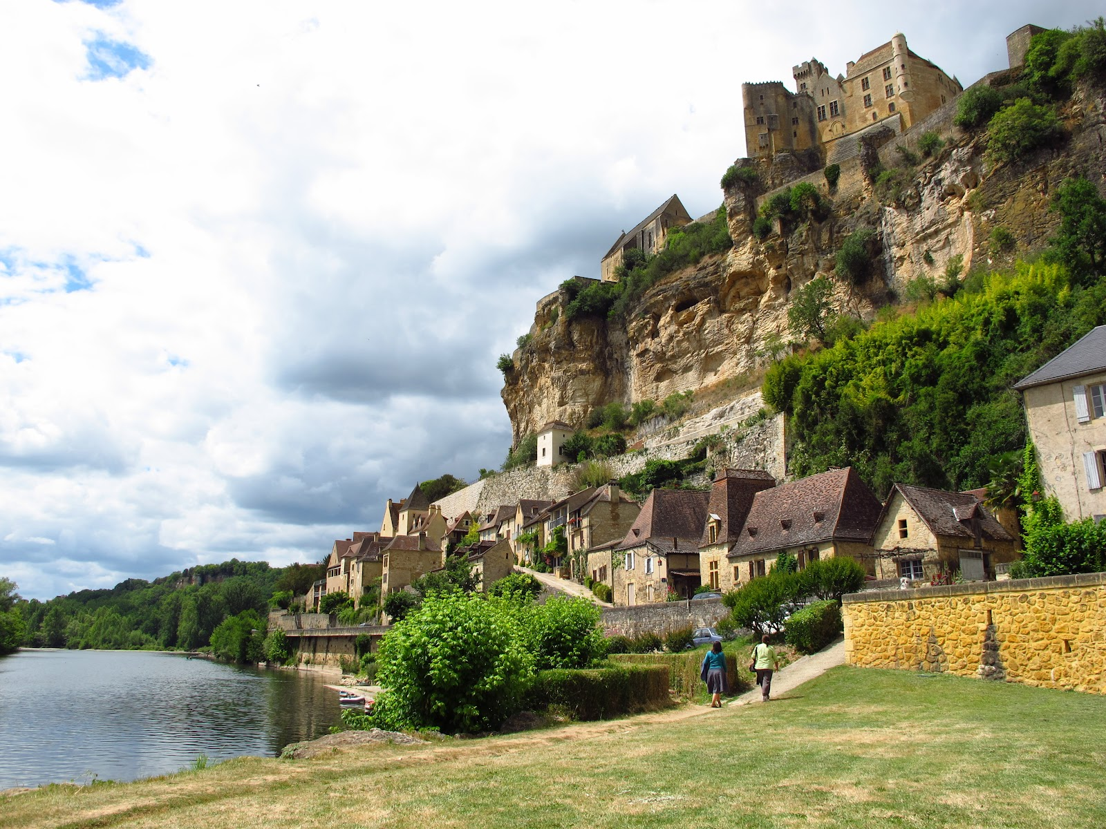 Zicht op Beynac-et-Cazenac