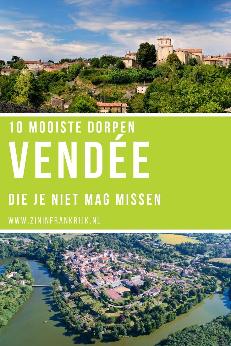 10 Mooiste dorpen in de Vendee