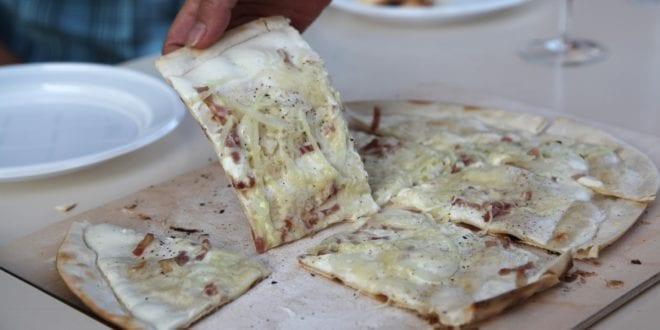 Recept voor de Elzasser Flammkuchen