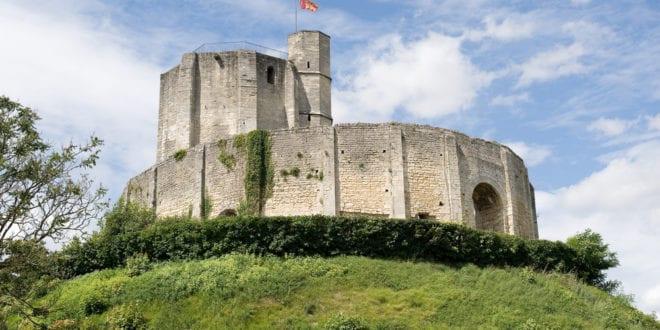 Bezoek aan Château de Gisors in Normandië